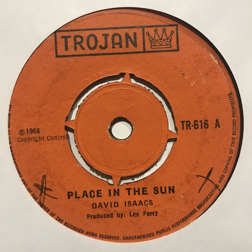 David Isaacs / Upsetter All Stars – Place In The Sun / Handy Cap