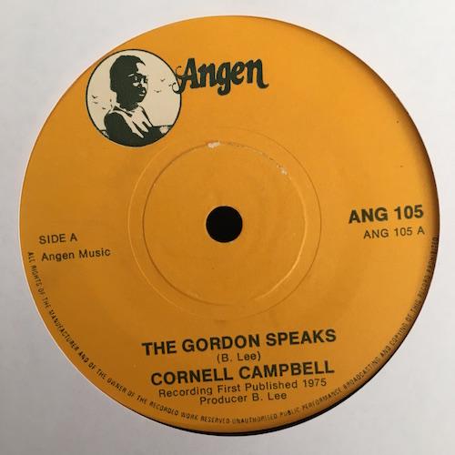 Cornell Campbell – The Gordon Speaks