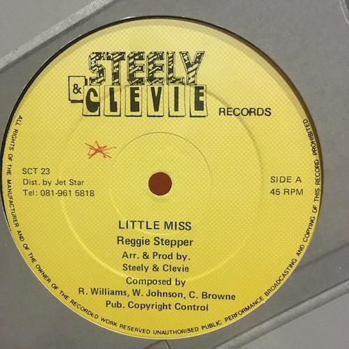 Reggie Stepper / Chevelle Franklin – Little Miss / Good Love