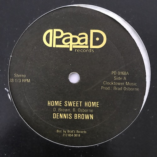 Dennis Brown / Pappa Iron – Home Sweet Home / Going Home