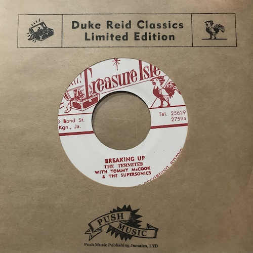 The Termites / Tommy McCook & The Supersonics – Breaking Up / Soul For Sale