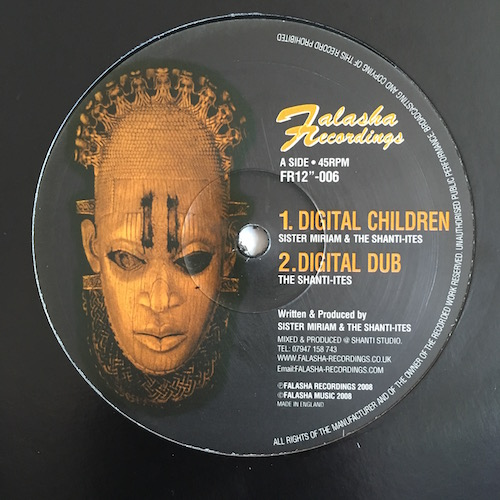 Sister Miriam / The Shanti-Ites – Digital Children / Jah Love