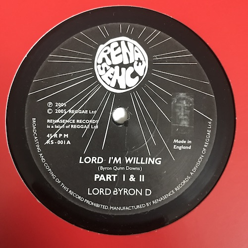 Lord Byron D – Lord I'm Willing