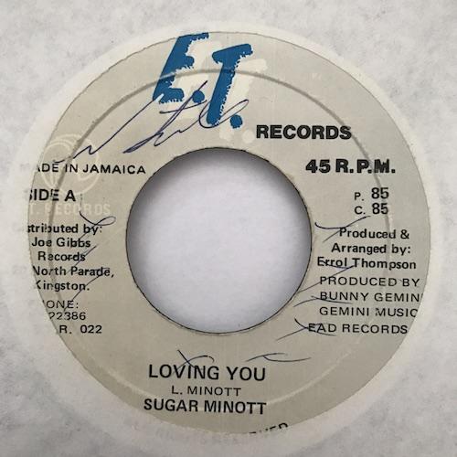 Sugar Minott – Loving You