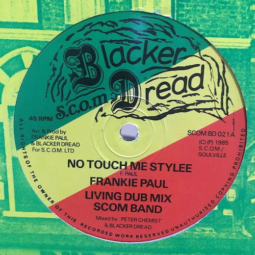 Frankie Paul / Earl Sixteen – No Touch Me Stylee / Livestock