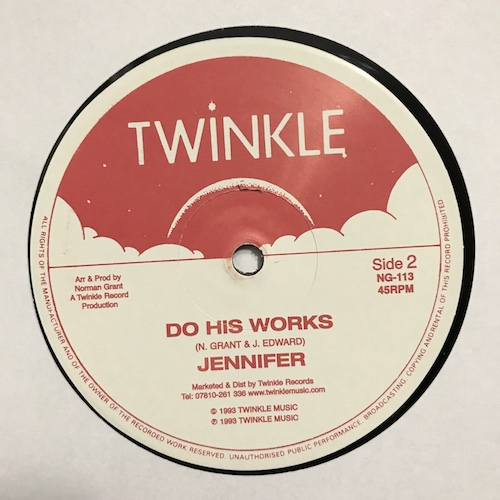 Jennifer – What Is It / Do His Works