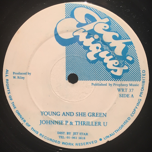 Johnnie P & Thriller U – Young And She Green