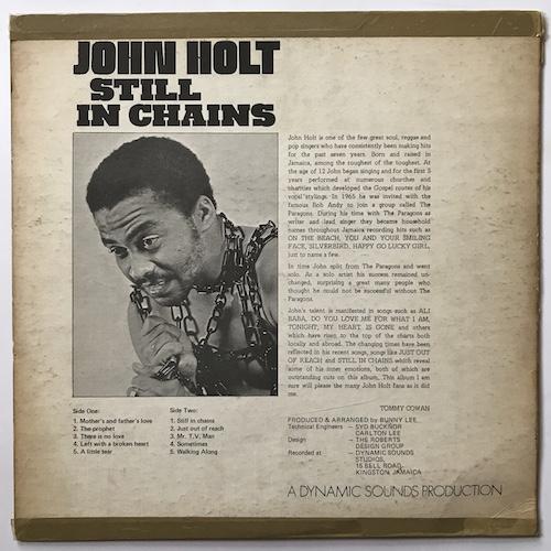 John Holt – Still In Chains