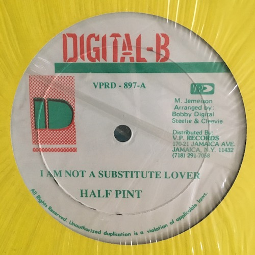 Half Pint – I'm Not A Substitute Lover
