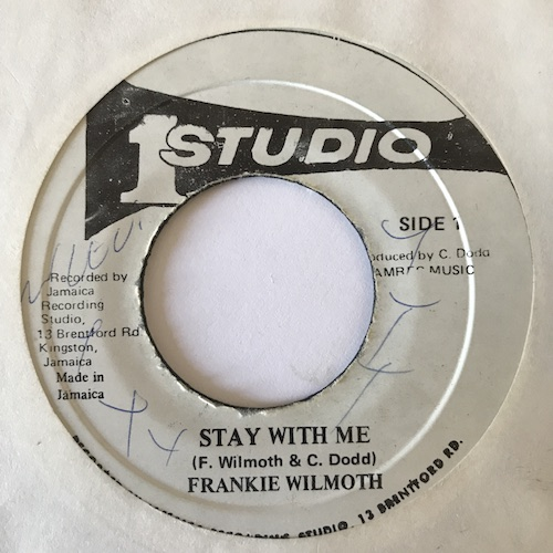 Frankie Wilmoth – Stay With Me