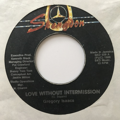 Gregory Isaacs – Love Without Intermission