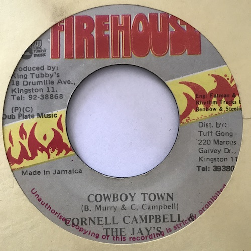 Cornell Campbell, The Jays – Cowboy Town