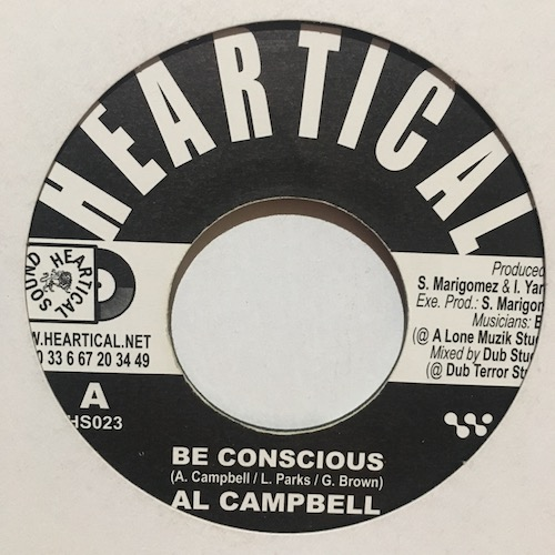Al Campbell / Anthony Johnson – Be Conscious / No More War