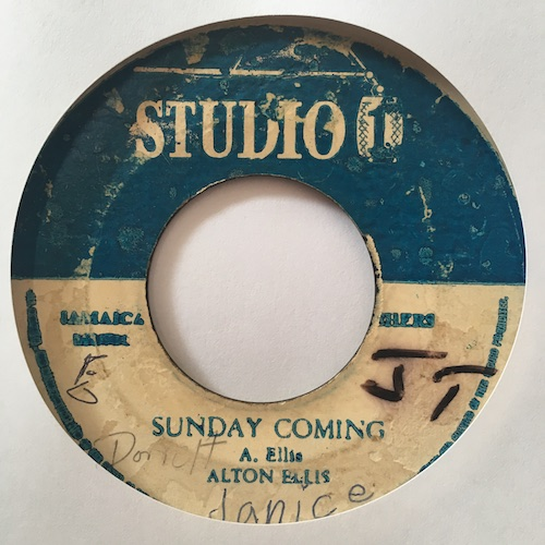 Alton Ellis / The Soul Sister – Sunday Coming / Another Night