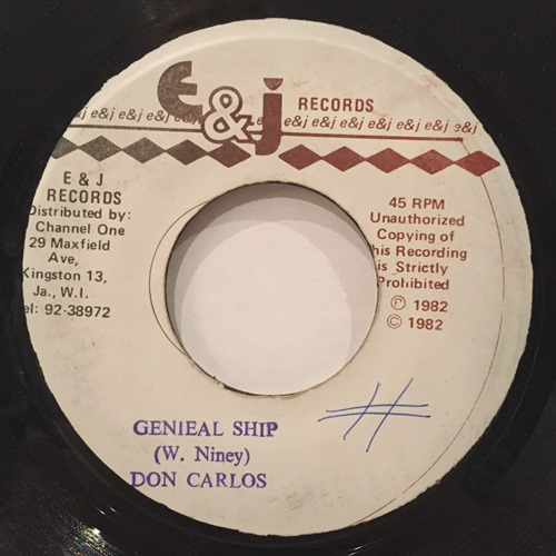Don Carlos – Genieal Ship