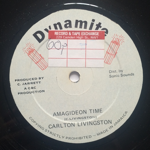 Carlton Livingston / Taxi Gang – Amagideon Time / Goal Keeper