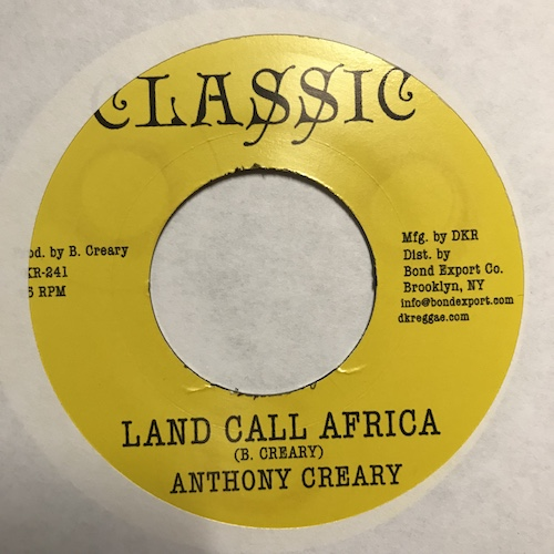 Anthony Creary – Land Call Africa