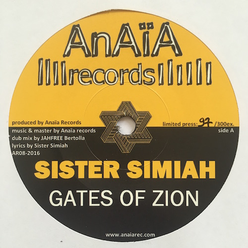 Sister Simiah / Jah Free –  Gates Of Zion