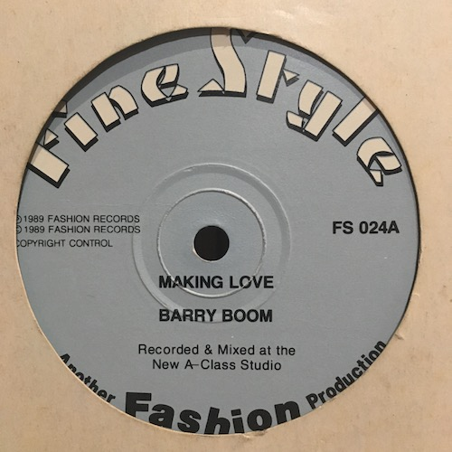 Barry Boom – Making Love
