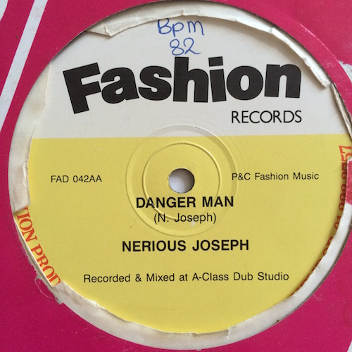 Nerious Joseph – You're My Special Lady / Danger Man