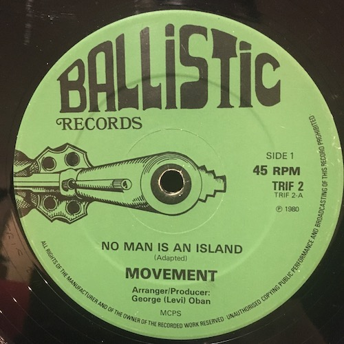 Movement – No Man Is An Island