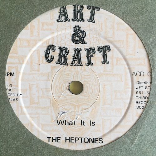 The Heptones / Lui Lepki – What It Is / Love Got A Hold On Me