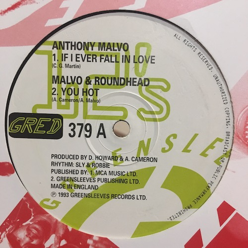 Anthony Malvo / Malvo & Roundhead – If I Ever Fall In Love / You Hot