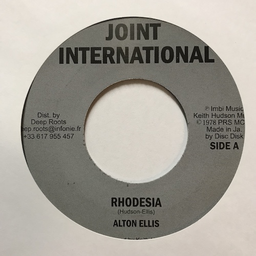Alton Ellis – Rhodesia