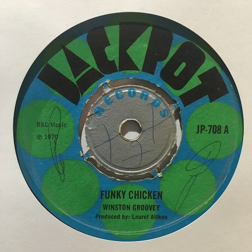 Winston Groovey / Symarons – Funky Chicken
