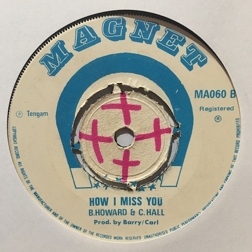 B. Howard & C. Hall – How I Miss You