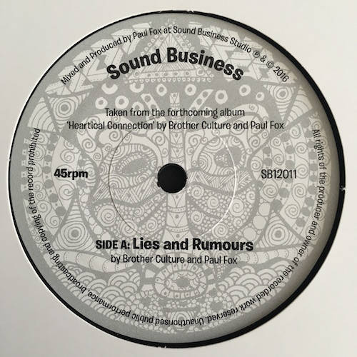 Brother Culture And Paul Fox – Lies and Rumours