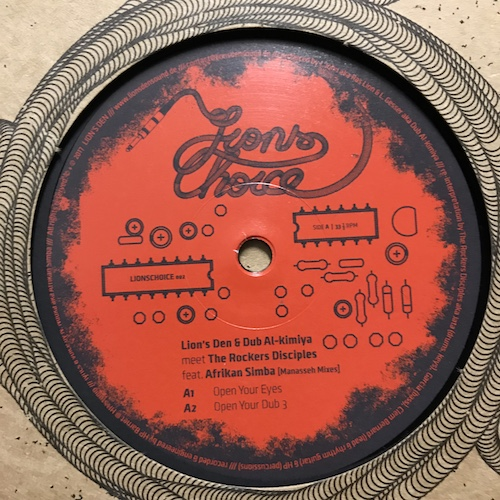 Lion's Den & Dub Al-kimiya meet The Rockers Disciples Feat. Afrikan Simba – Open Your Eyes