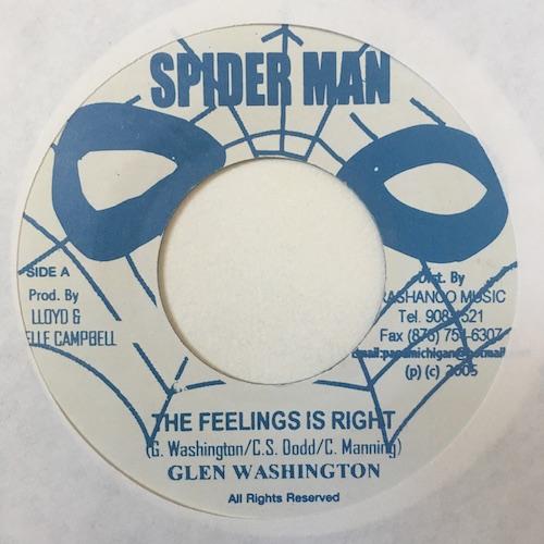 Glen Washington – The Feeling Is Right