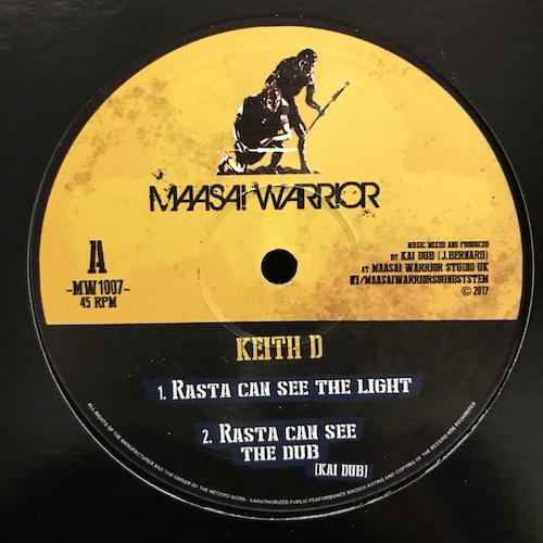 Keith D / Izyah Davis – Rasta Can See The Light / Hard To Believe