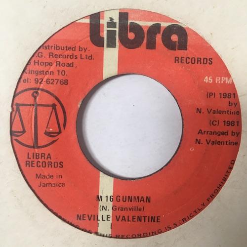 Neville Valentine – M 16 Gunman
