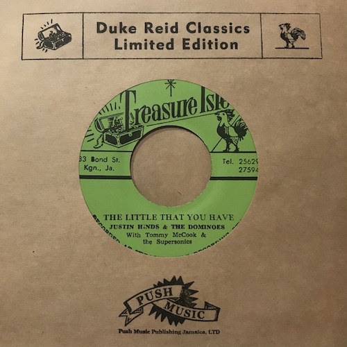 Justin Hinds & The Dominoes / Tommy McCook & The Supersonics – The Little That You Have / Persian Ska