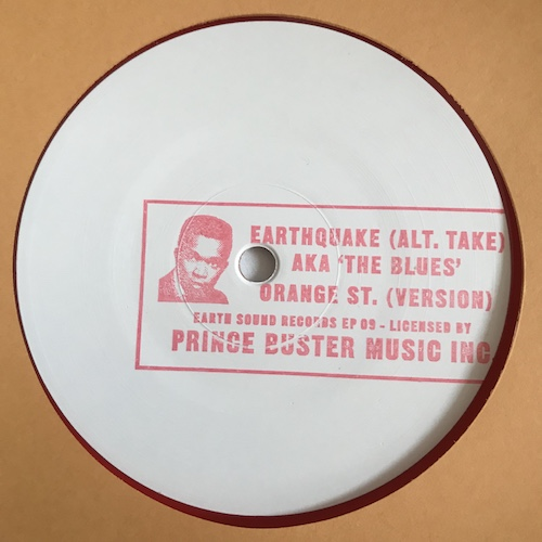 Prince Buster's All Stars – Earthquake (Alt. Take) Aka 'The Blues' / Orange St.(Version)