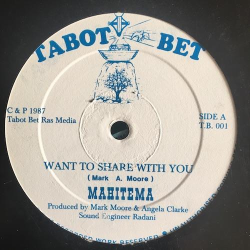 Mahitema – Want To Share With You / Play On Reggae Music