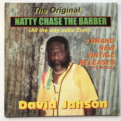 David Jahson – Natty Chase The Barber