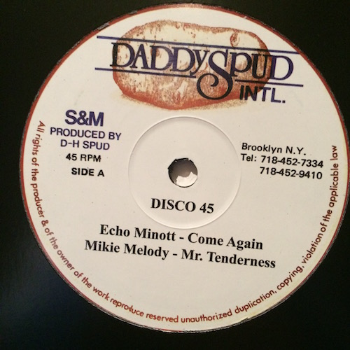 Echo Minott / Mikie Melody –  Come Again / Mr Tenderness