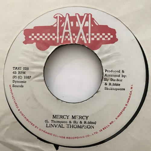 Linval Thompson – Mercy Mercy