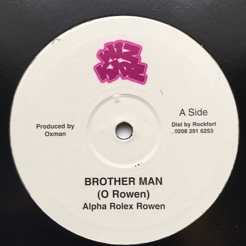 Alpha Rowen, Manasseh – Brother Man – Livity Dub