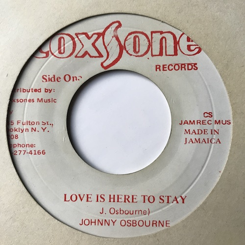 Johnny Osbourne – Love Is Here To Stay