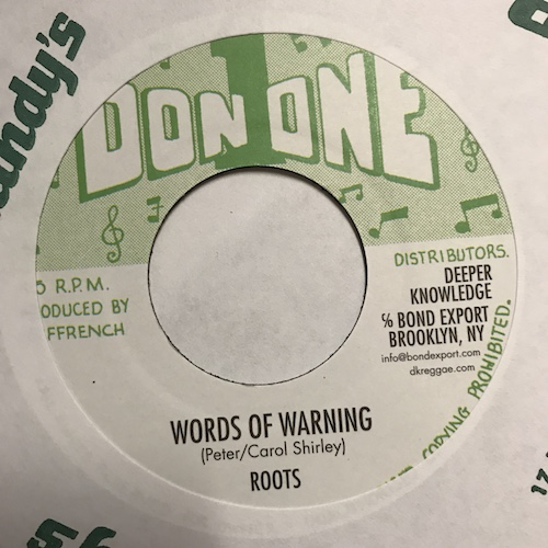 Roots – Words Of Warning