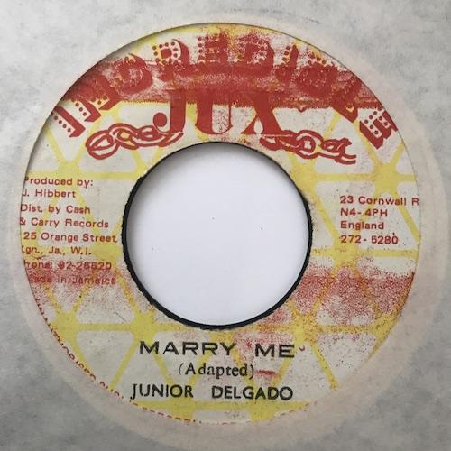 Junior Delgado – Marry Me