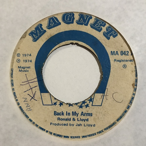Ronald & Lloyd / Heptones – Back In My Arms / Drifting Away