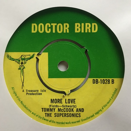Duke Reid And The Silvertones And Tommy McCook & The Supersonics – True Confession / More Love