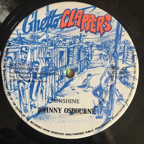 Johnny Osbourne / Tenna Fly – Sunshine / Inner Cities