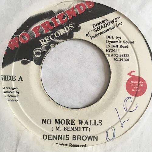 Dennis Brown – No More Walls