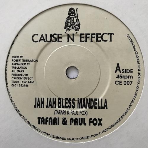 Tafari & Paul Fox – Jah Jah Bless Mandella